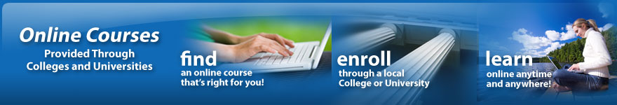 Online Courses Provided Through Colleges and Universities